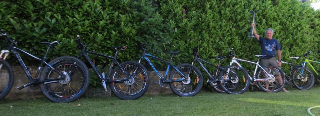 Manutenzione delle biciclette