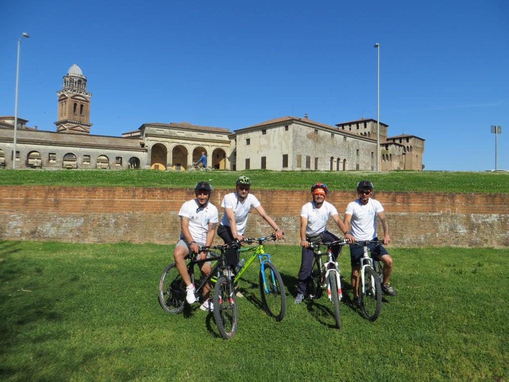 Partenza da Mantova direzione Bondeno