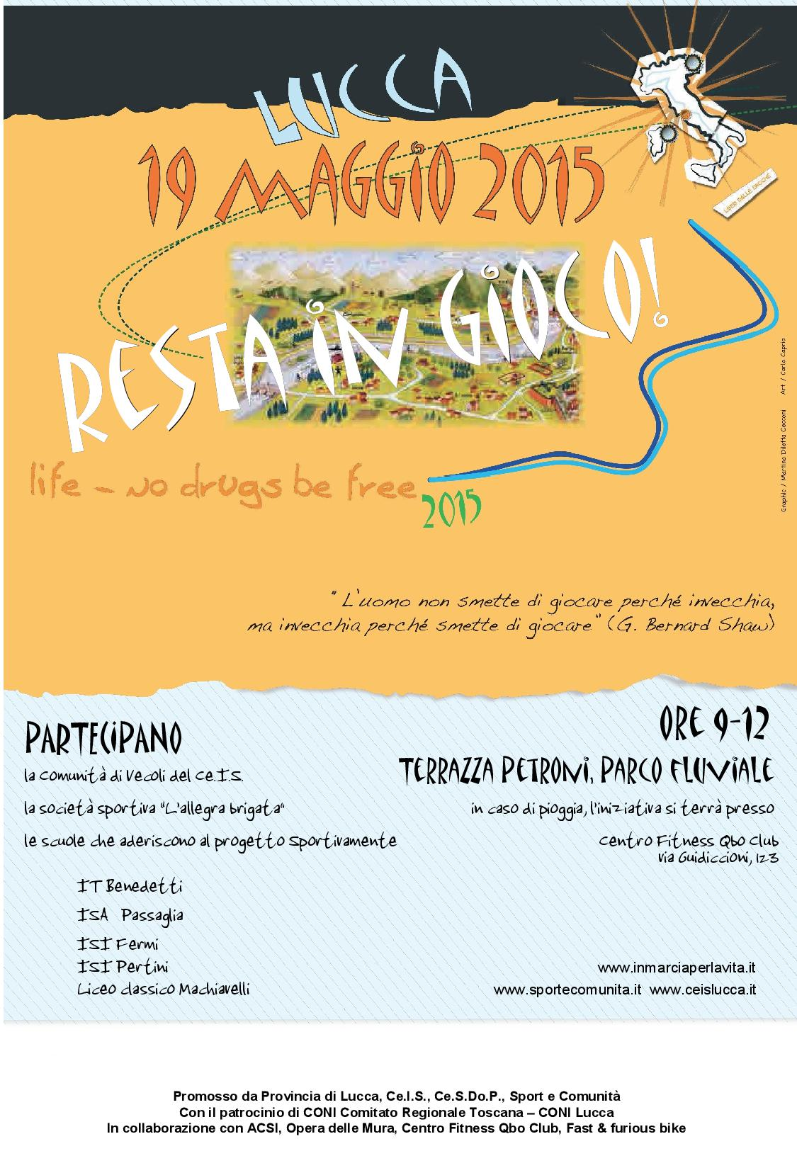 Toscana 2015 – Resta In Gioco!
