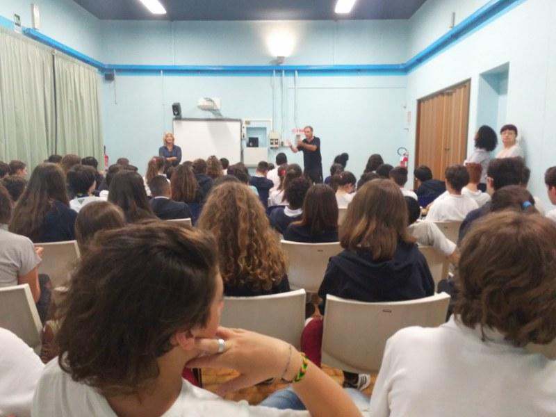 Intervento nella Scuola Galileo Galilei