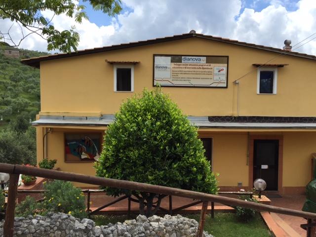 Lazio – Dianova, Villa Letizia e CeiS Viterbo – Palombara Sabina