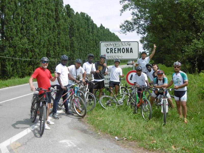 Arrivo a Cremona