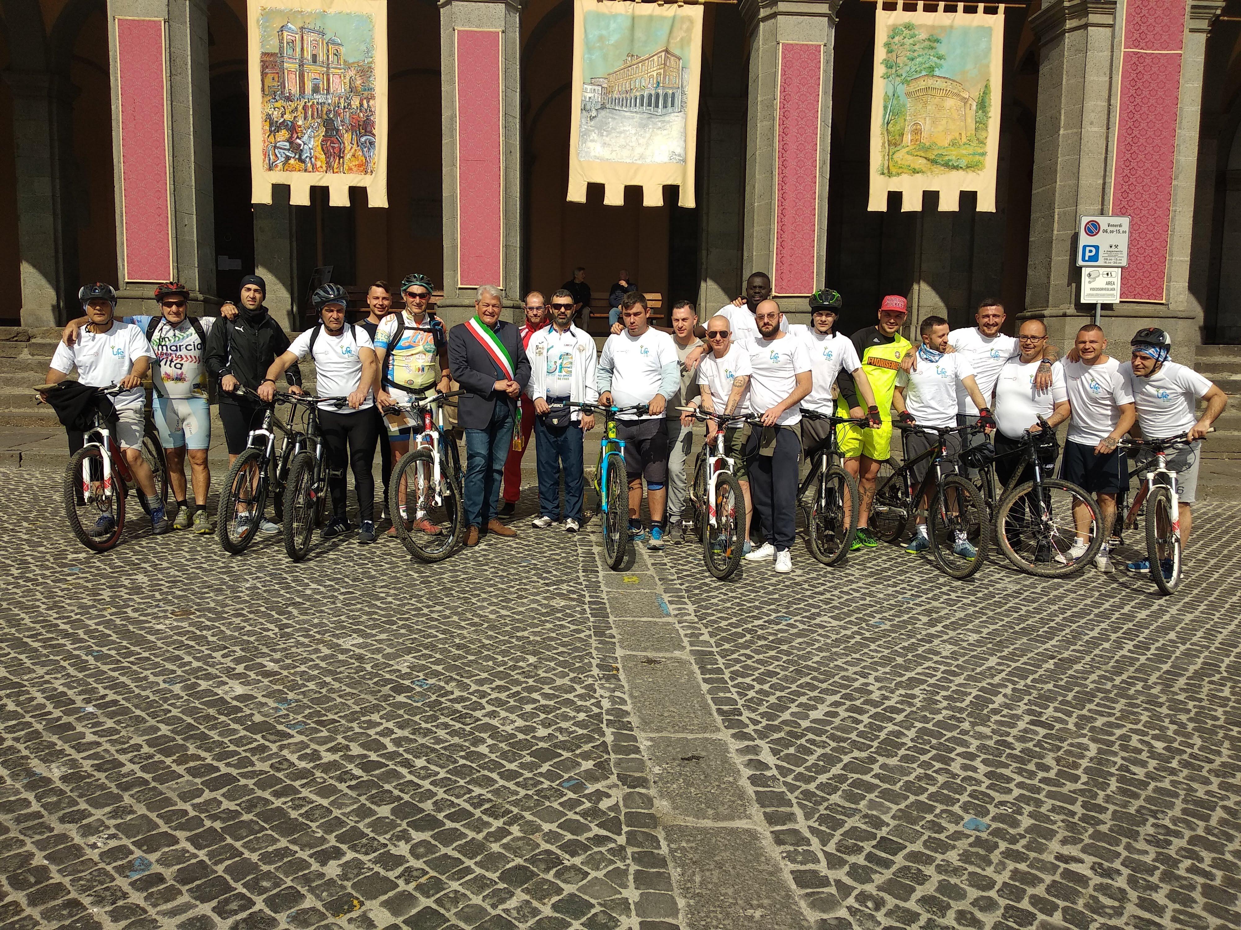 Lazio 12 tappa – CeiS Viterbo – da Acquapendente a Fabro