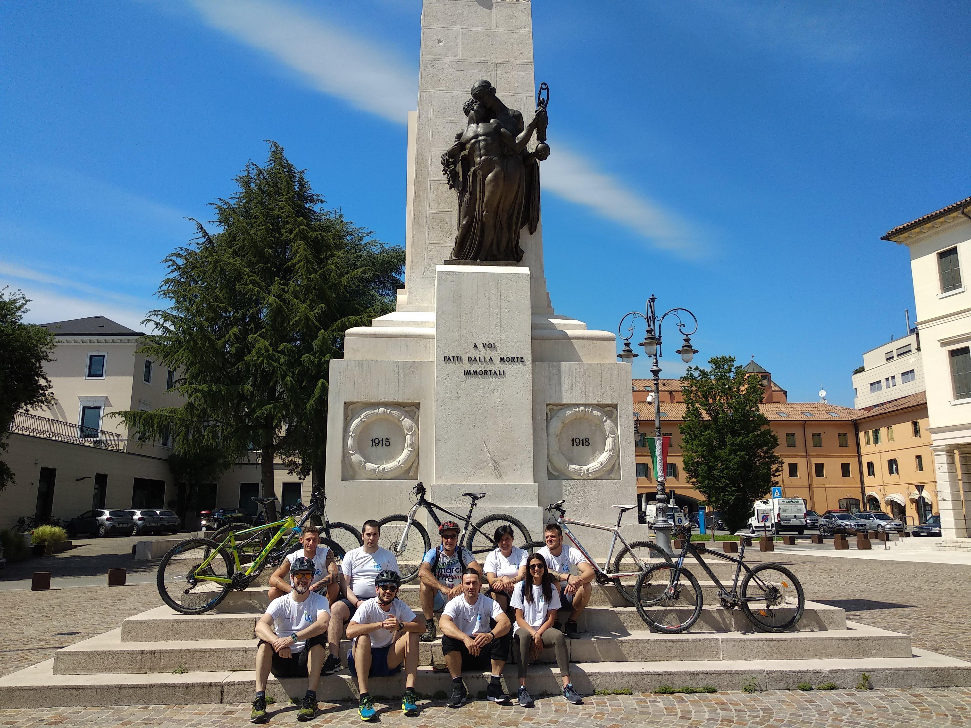 Veneto 17 tappa – Piccola Comunità – da Conegliano a Montebelluna