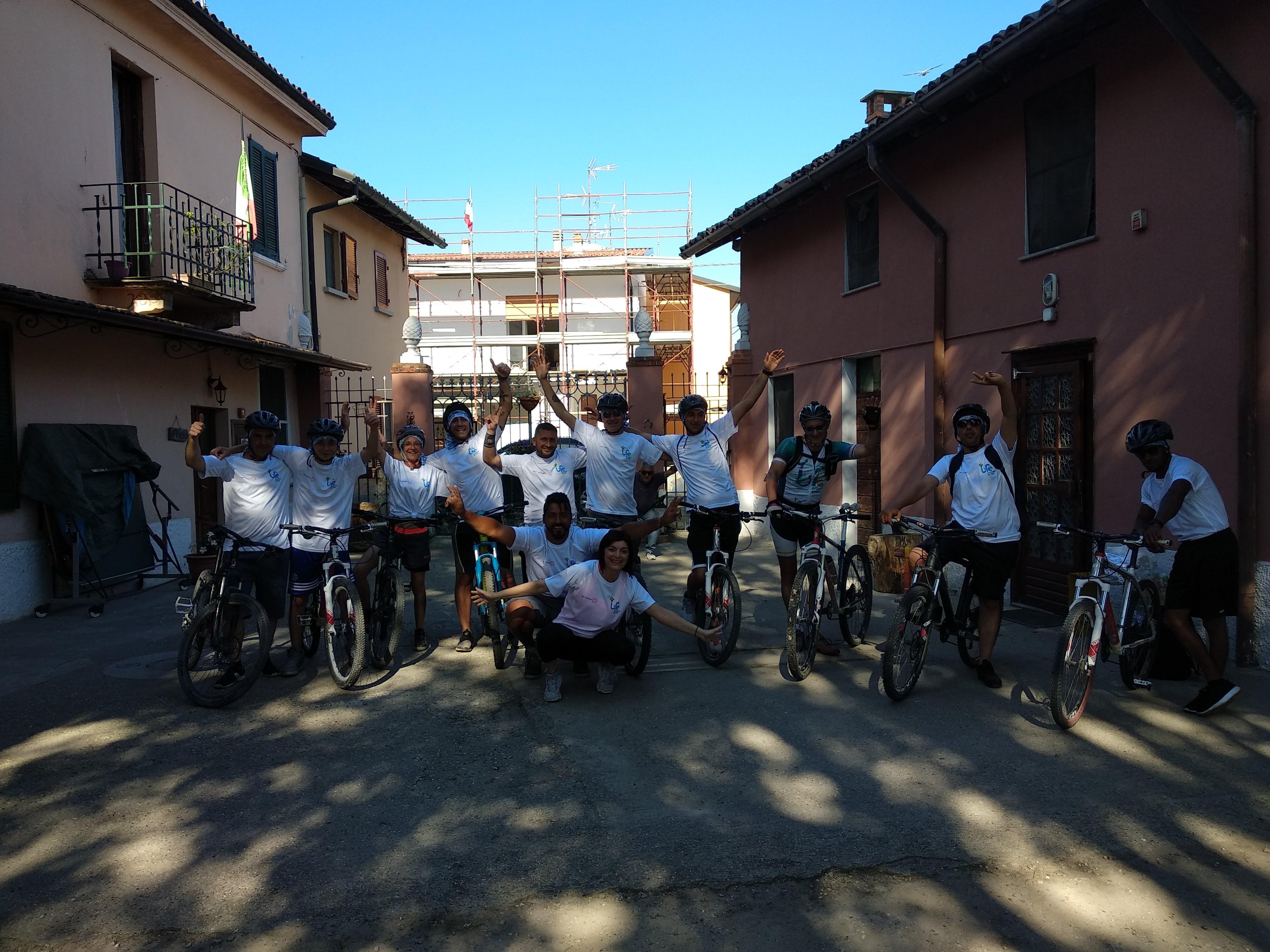 Lombardia 23 tappa – Saman – da Belgioioso a Pavia