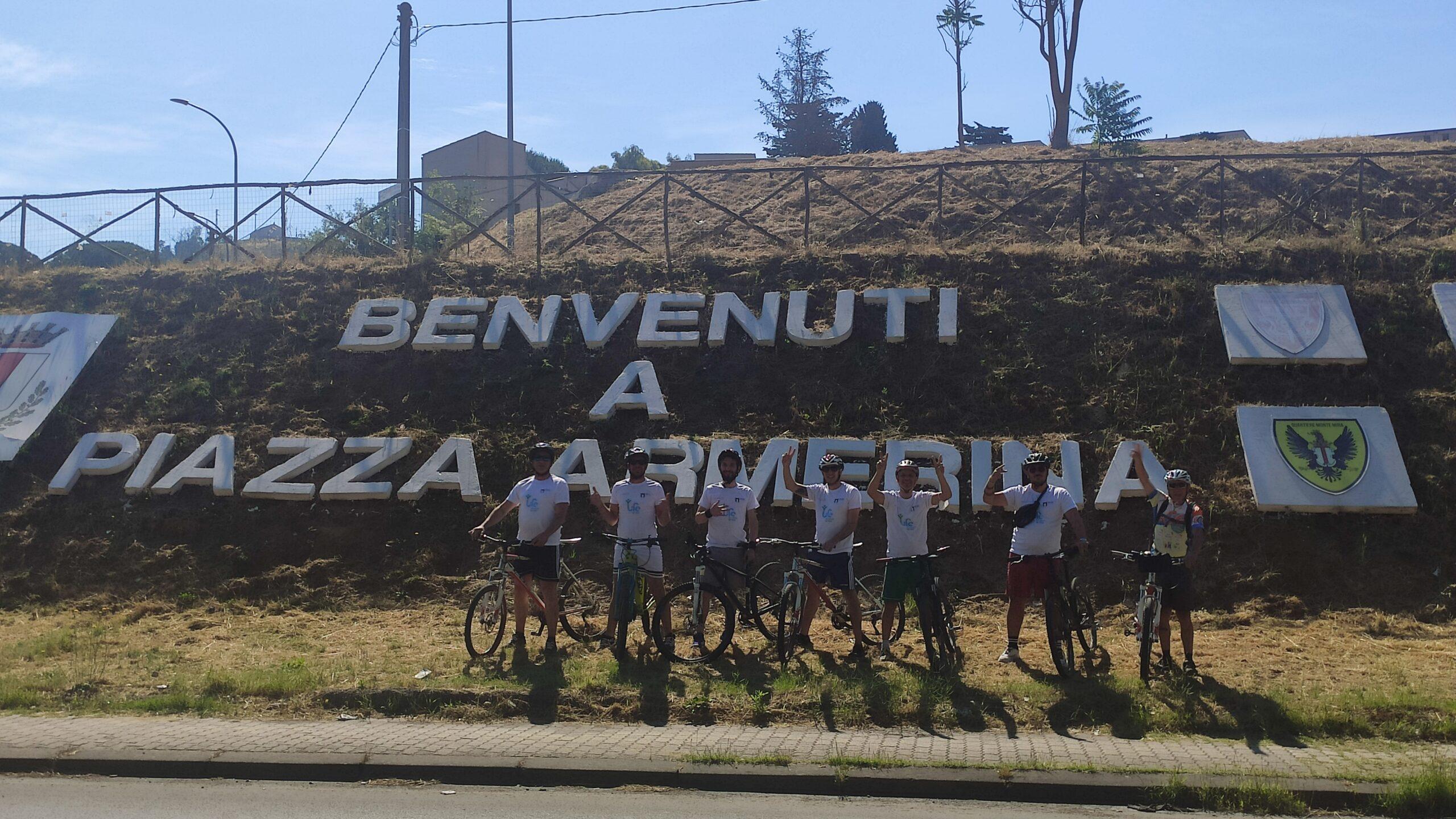 Sicilia 7 tappa 12 giugno – Vivere – Piazza Armerina la Piducchiusa